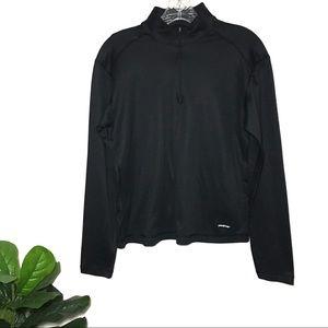 Patagonia Apilene Long Sleeve Pullover Black large
